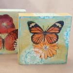 Caitlin Dundon, Photo Transfer Butterfly Blocks