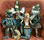 Erin Keck, Unique Steampunk Puppets