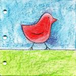 Caitlin Dundon, Inktense Birds Journal