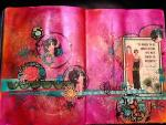 Heather Kindt, Let's Work in Our Art Journals