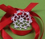 Debbie Rijns, It`s Snowing Silver (PMC Filigree Snowflake)