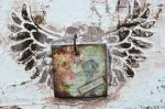 Roxanne Lingle, Your Story - An Assemblage Wall Hanging