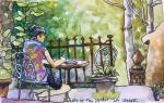 Helen  Shafer Garcia, Travel Journaling with Pens & Watercolor