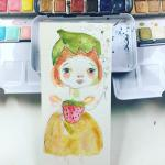 Mindy Lacefield, Watercolor Portraits