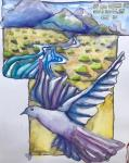 Helen  Shafer Garcia, Poetic Watercolor Pencil Journaling