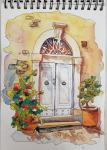 Jacqueline Newbold, Watercolor Windows & Doors