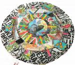 Rebekah Meier,  Mixed Media Mandalas with Fabric and Paper