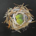 Susan Schenk,  Collage a Nest