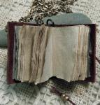 Chad Alice Hagen, Miniature Book Necklace