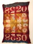 Chad Alice Hagen, Resist Dyeing on Hand Felted Wool – A New surface for Mixed Media