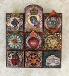 Laurie Mika, Mini Clay Quilts