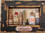 Anni Schwabe, Embedded Bottles Wall Hanging