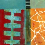 Jane Davies, Monoprint Collage