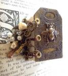Jen Crossley, Bumble Bee Etched Metal Book