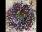 Andrea Beitzel, Hand Crafted Floral Wreath