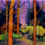 Carol Nelson, Abstracted Trees
