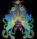 "Lorra Lee Rose, ""The Masquerade"" - Feather Mask"