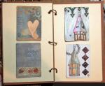 Anni Schwabe, QUEST 52 – Altered Playing Card Journal