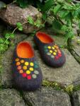 LeBrie Rich, Felted Slippers