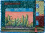 Laurie Longberry, Southwest Hand Painted Art Quilt