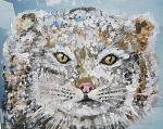 Susan Schenk, Wild Animal Portrait Collage