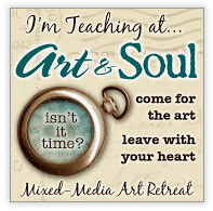 I'm teaching at Art & Soul button